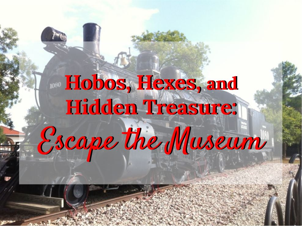 escape-the-museum halloween fun