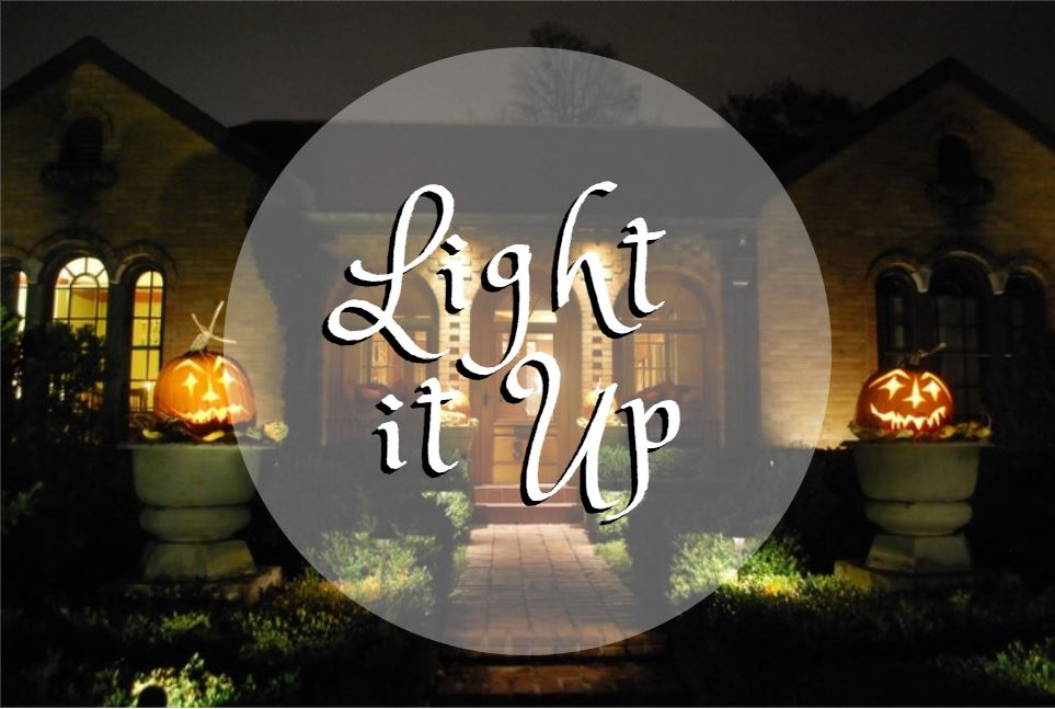Light it up on Halloween