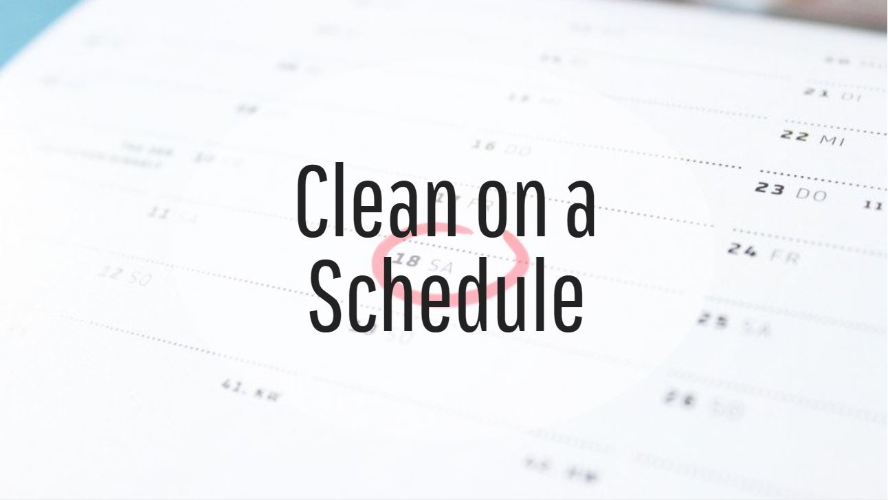 clean-schedule